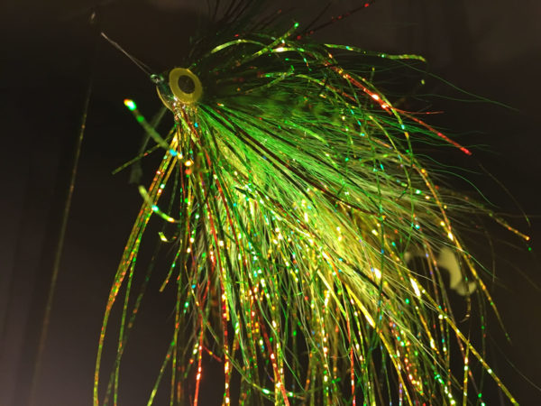 Mean Green Machine - articulated pike fly