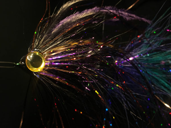 Purple Haze - articulated pike fly
