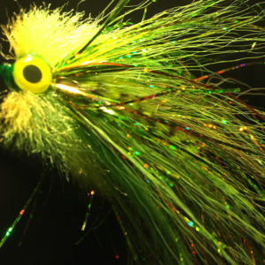 Toxic Tube - tube fly for pike