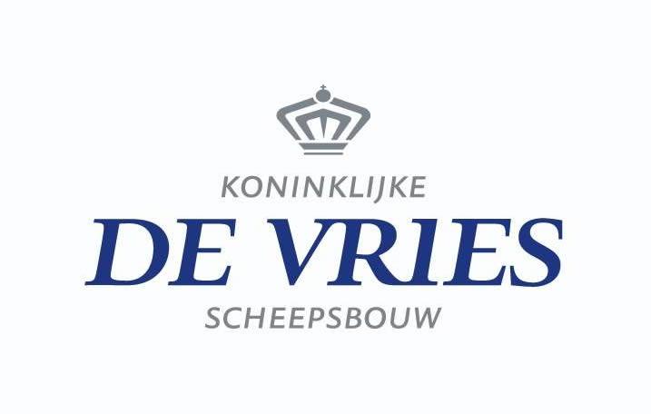 Logo Koninklijke De Vries scheepsbouw - Superyacht